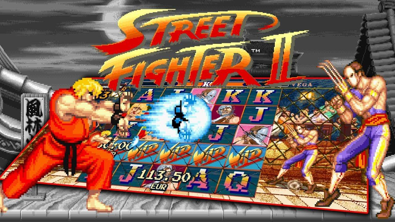 Street Fighter 2 Slot Machine
